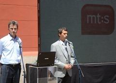 predstavnici mts Zeljko Pijevac i Petar Cisar