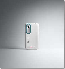 HTC Desire X White Back