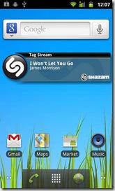 Shazam-Widget